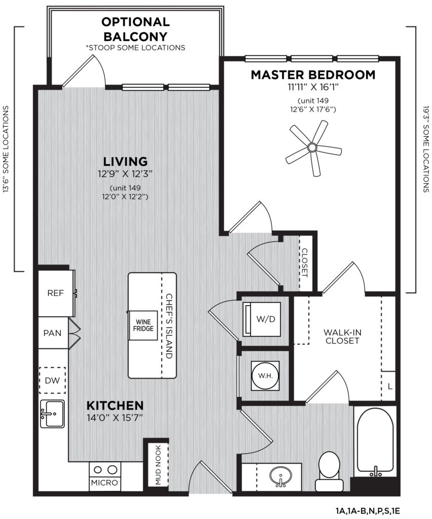 Toast Your Life with the Bollinger 1 Bed/1 Bath