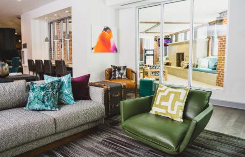 Atlanta luxury apartment community