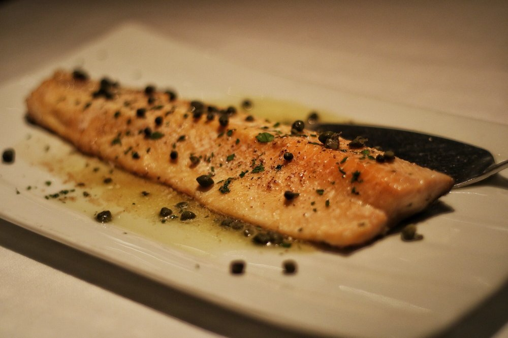 arctic char pic by CW - Dine-In at Kyma