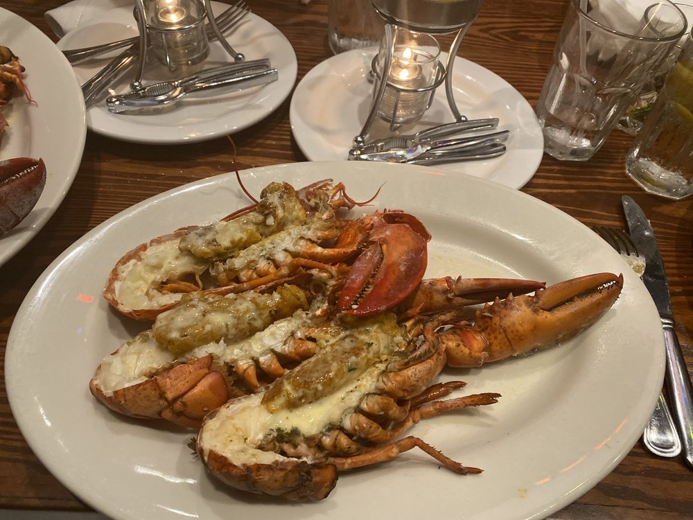 Split Lobster - pic by Lauren H on Yelp - Dine-In at the Atlanta Fish Market